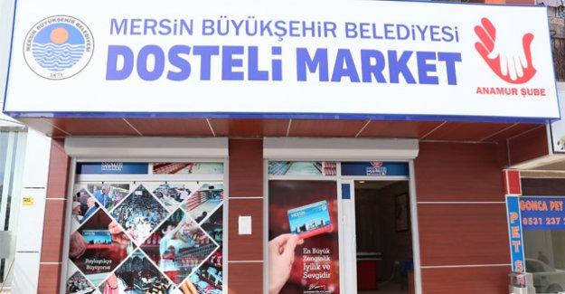Dosteli Market Zinciri Mersin'i Sardı