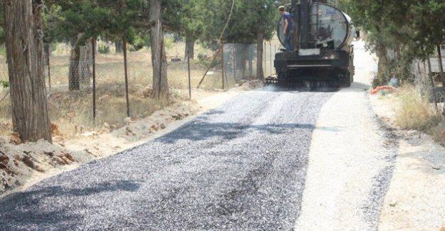 Güzeloluk Mahallesi'ne 6 kilometrelik asfalt hizmeti