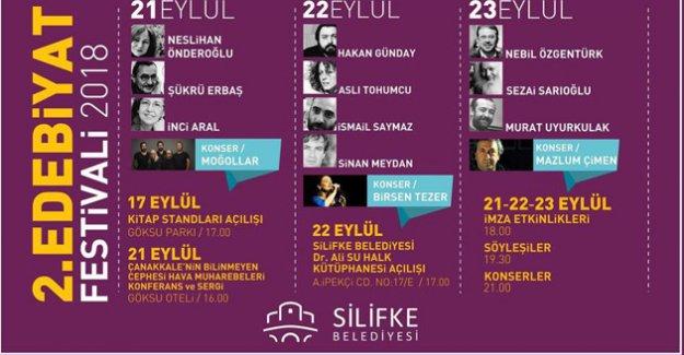 Silifke'de 2. Edebiyat Festivali düzenlenecek