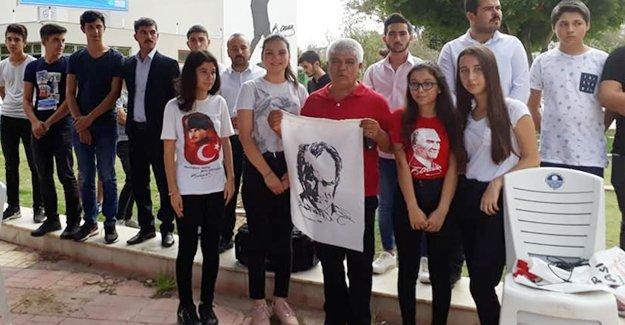 Atatürk'e hakaret edenlere Ülkücülerden tepki