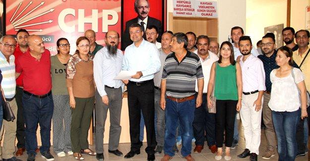 Başkan Turgut, aday adaylığı başvurusunu yaptı