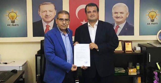 Bilal Özkan, Belediye Başkanlığı için başvurusunu yaptı
