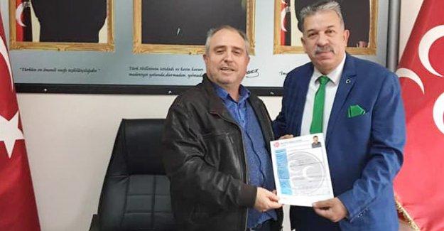 MHP'li Şimşek Meclis Üyeliğine aday adayı oldu