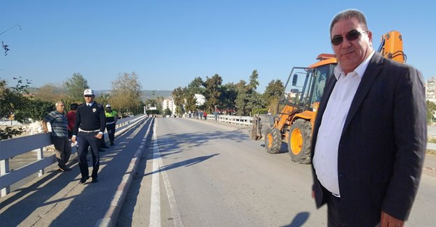 Mustafa Çetin'den Taş Köprü açıklaması