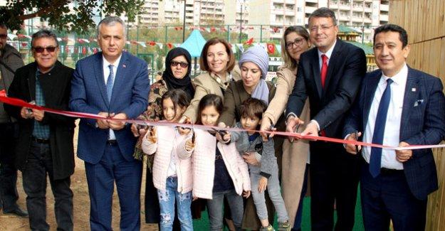 Şehit Uz. Çvş. Mehmet İlker Şahin Parkı açıldı