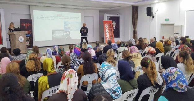 Silifke'de Narko-Rehber eğitimleri devam ediyor