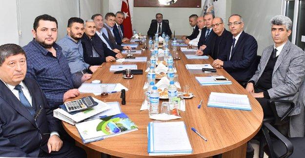 Silifke-OSB Vali Su Başkanlığında toplandı