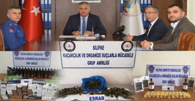 Uyuşturucu madde kaçakçılarına geçit yok