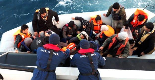 497 Göçmen Yakalandı