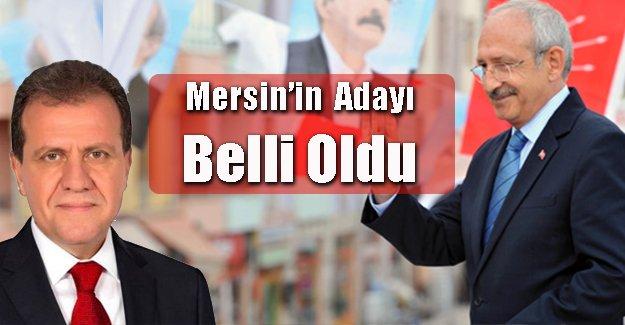 CHP'nin Mersin Adayı Açıklandı