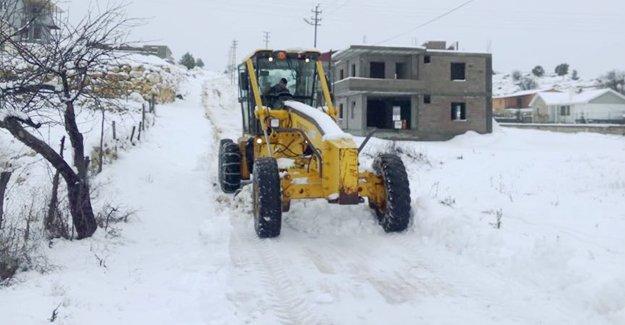 Karla mücadelede Silifke Belediyesi'ne teşekkür