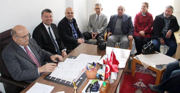 Başkan Turgut, ÇYDD Genel Kuruluna katıldı