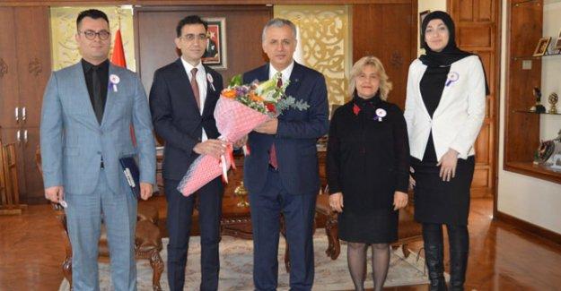 Müdür Aydoğan'dan Kaymakam Cinbir'e ziyaret