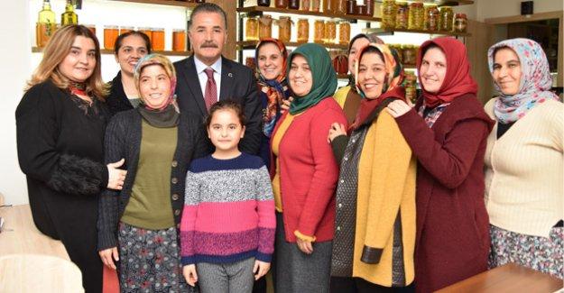 """Başkan Tuna; """"Kadınlarımızın Her Daim Yanlarında Olacağız"""""""