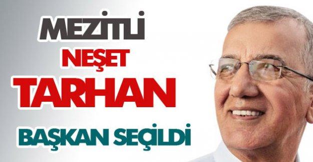 Mezitli, Neşet Tarhan'ı yeniden başkan seçti