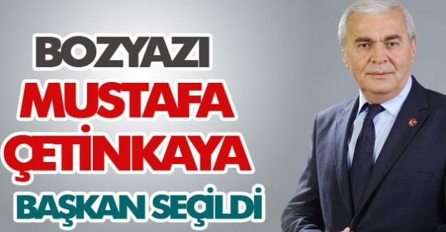 MHP Bozyazı Belediye Başkan Adayı Mustafa Çetinkaya Başkan Seçildi