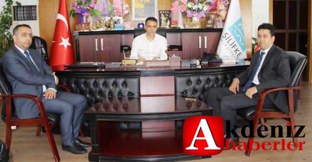 Vali Yardımcısı Şahin'den belediye ziyareti