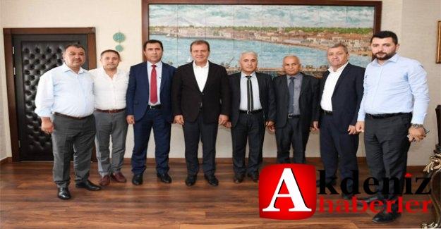 Başkan Seçer, Kuzey Irak Heyetini Makamında Ağırladı