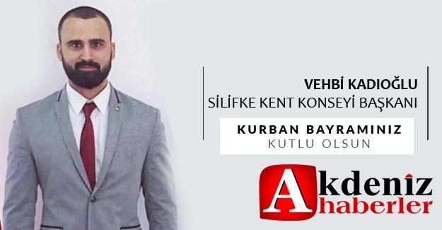 Silifke Kent Konseyi Başkanı Vehbi Kadıoğlu