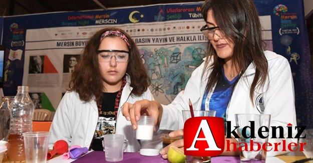 4. Uluslararası Mersin Bilim Şenliği Bilim Meraklılarından Yoğun İlgi Gördü