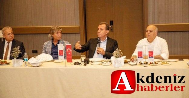 """Başkan Seçer: """"Mersin'de Turizmin Gelişmesi Yönünde Bütün İmkanları Seferber Edeceğiz"""""""