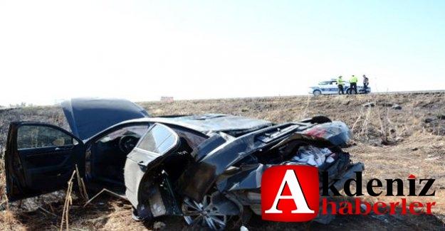 Başkan Seçer'in Koruma Aracı Kaza Yaptı