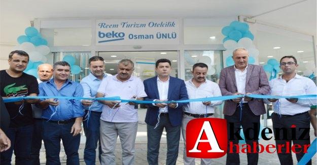 Beko  Osman Ünlü Mağazası Görkemli  Törenle Açıldı