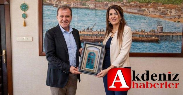 Kktc Başkonsolosu'ndan Başkan Seçer'e Ziyaret