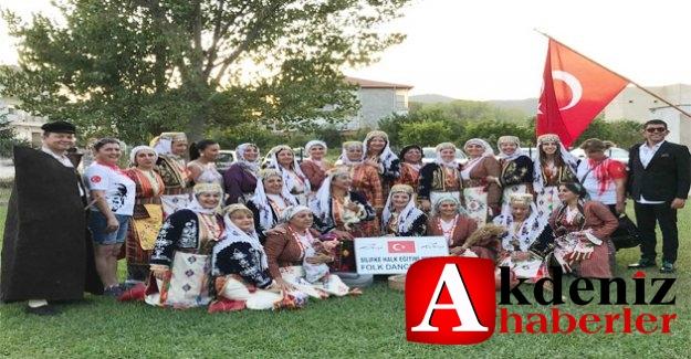 Silifke Halk oyunları grubu Selanik- Stavros Uluslararası Folklor Fstivalinde