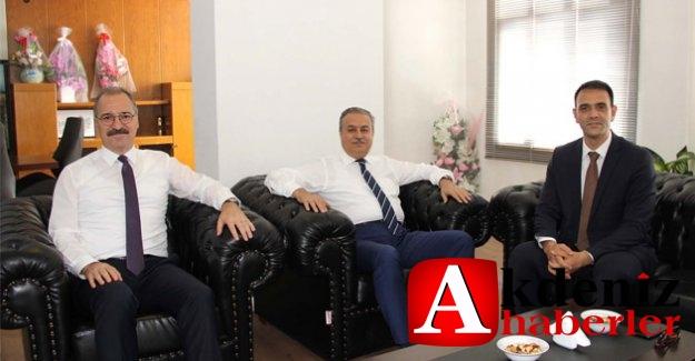 Vali Su'dan Silifke Belediye Başkanvekili Altunok'a ziyaret