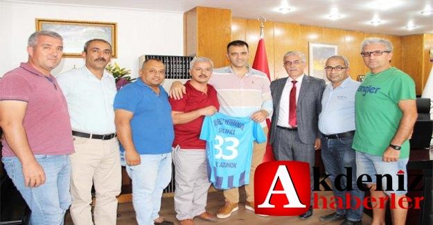Veteranlar Başkanvekili Altunok'u Ziyaret Etti