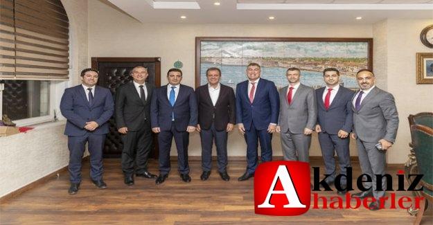 Vodafone Ceo'su Deegan'dan Başkan Seçer'e Ziyaret