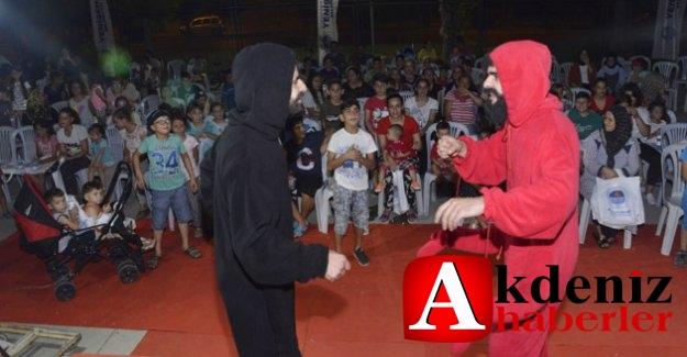 Yenişehir'de Parklar Sahne Oldu, Çocuklar Tiyatroyla Tanıştı