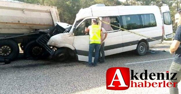 Akkuyu NGS'ye çalışmaya gelen yabancı işçiler kaza yaptı: 2 ölü, 11 yaralı
