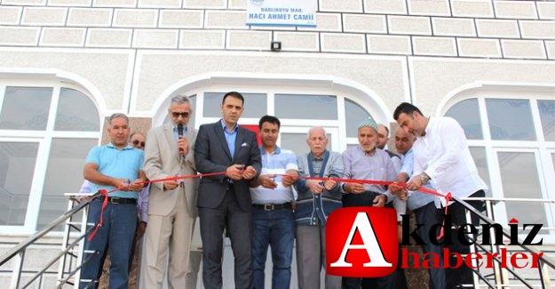 Altunok, Hacı Ahmet Camiinin açılışına katıldı