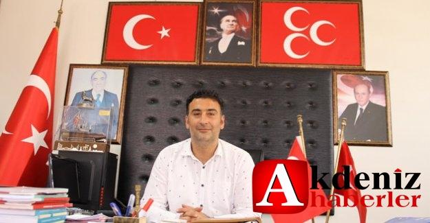 MHP İlçe Başkanı Nogay, Muhtarlar Gününü kutladı