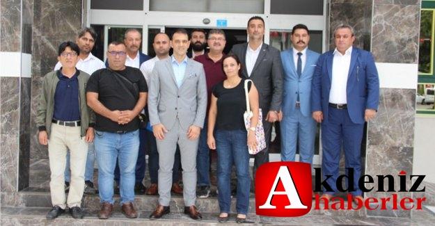 MHP İlçe yönetimi basın mensuplarıyla gündemi değerlendirdi