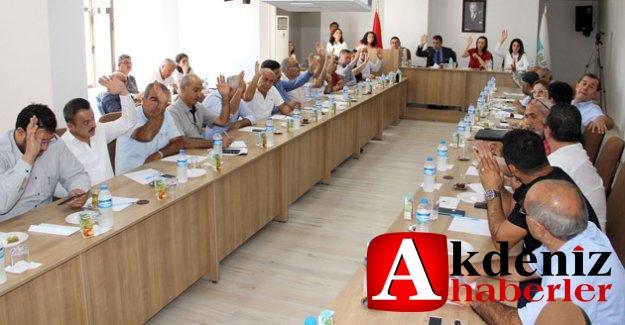 Silifke Belediyesi Ekim ayı toplantısını gerçekleştirdi