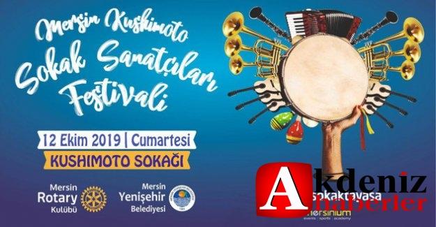 Sokak Sanatçıları Yenişehir'de Sahne Alıyor