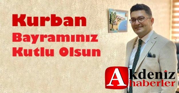 Mersin İl Kültür ve Turizm Müdürü Emre Duru Kurban bayramını kutladı.