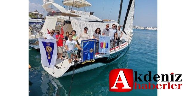 Silifke Rotary Kulübünden Yelken Eğitimi