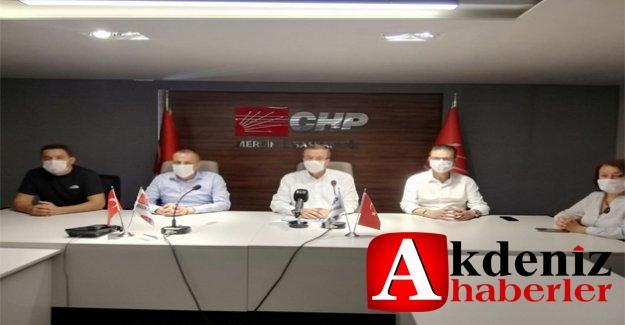 CHP' den Basın Açıklaması