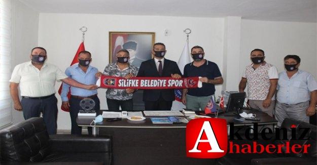 Başarır ve Altay'dan Silifke Belediyespor'a ziyaret