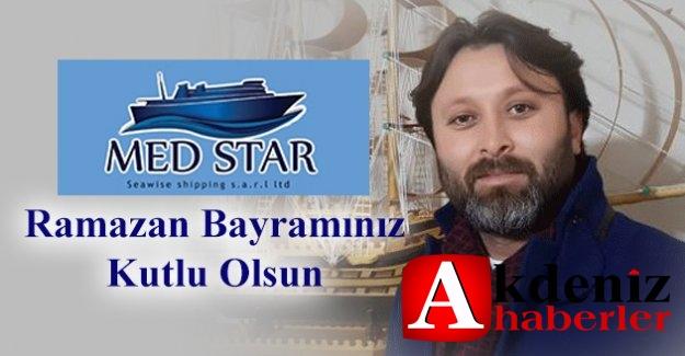 MEDSTAR Medstar Shıppıng Genel Müdürü Ali Türür Ramazan Bayramını Kutladı