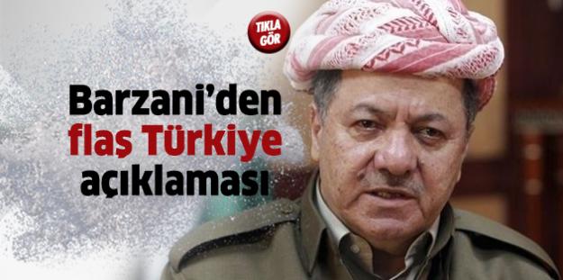 Barzani: Türkiye Olmasaydı, Giremezdik