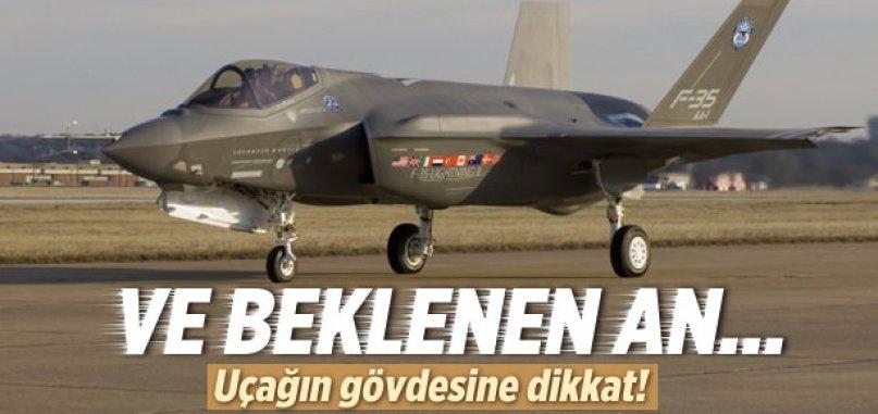 F-35 uçağı görücüye çıktı