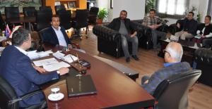 Başkan Turgut, turizmcilerle bir araya geldi