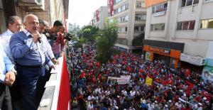 """HİÇ KİMSE DEMOKRASİYİ ASKIYA ALAMAYACAKTIR"""
