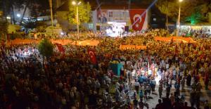 Silifke'de 30 bin kişi Demokrasi için yürüdü