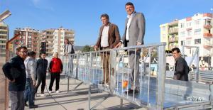 Şehir stadında 400 kişilik ilave tribün çalışması başladı